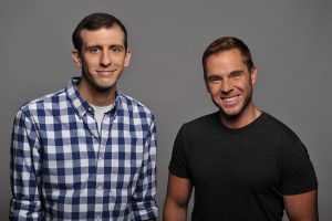 Pittsburgh Dad creators Chris Preksta and Curt Wootton