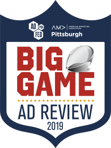 BIG GAME Ad Review featuring WTAE Channel 4 Sports Director