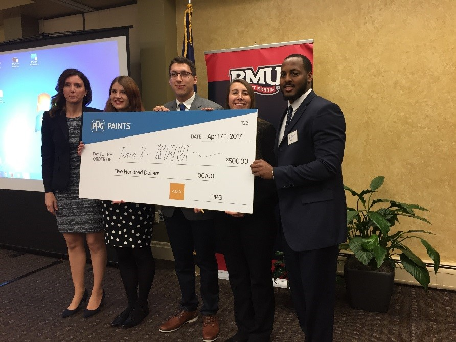 First Place Marketing Plan Competition