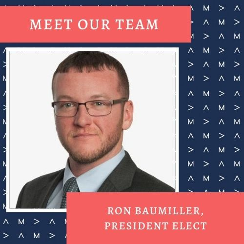 American Marketing Association Pittsburgh Chapter President-Elect, Ron Baumiller